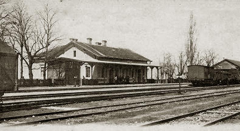Gara Oravița Română